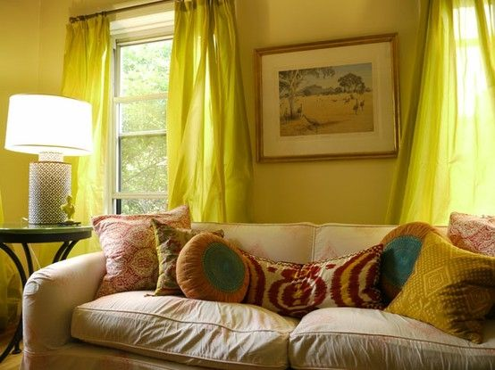 and again love the drapes pillows warm without being shocking by