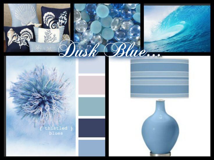 Dusk Blue...