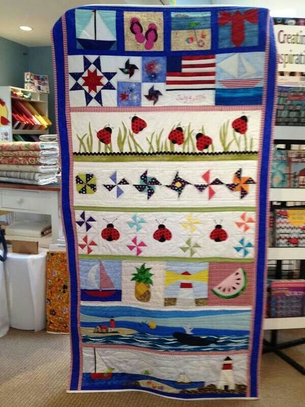 Mary Ellen Chatigny Row By Promotion Yielded This Handsome Quilt In Weymouth Massachusetts On 24 Blocks Xxx