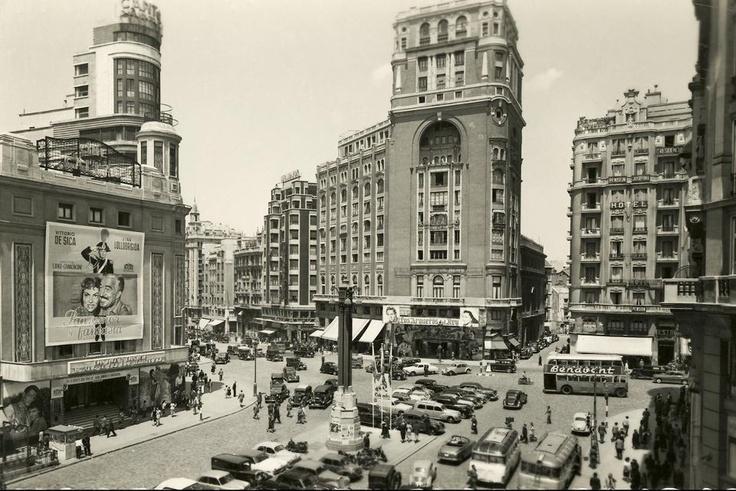 Plaza de Callao, 1954 de Roloff