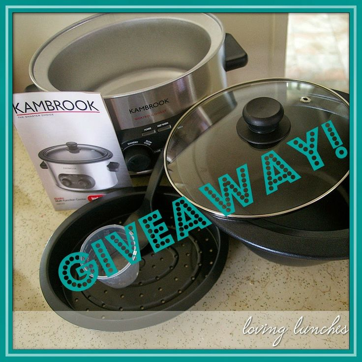 Uno Duo Tres Quatro Multi Cooker and a Giveaway
