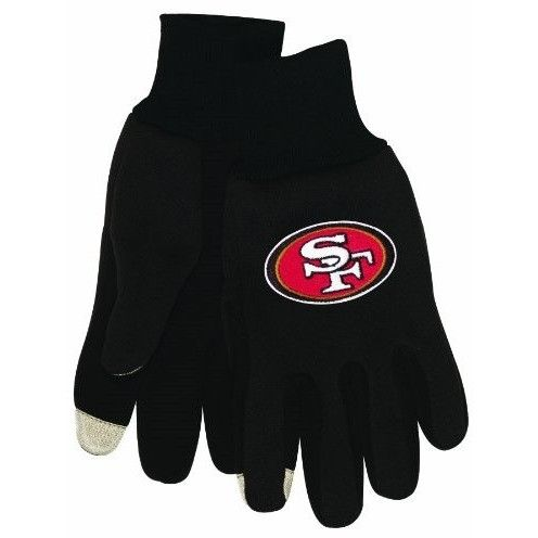 San Francisco 49ers Team Logo Technology Touch Texting Gloves