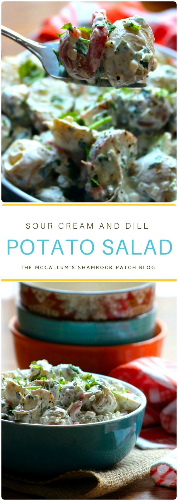Sour Cream and Dill Potato Salad
