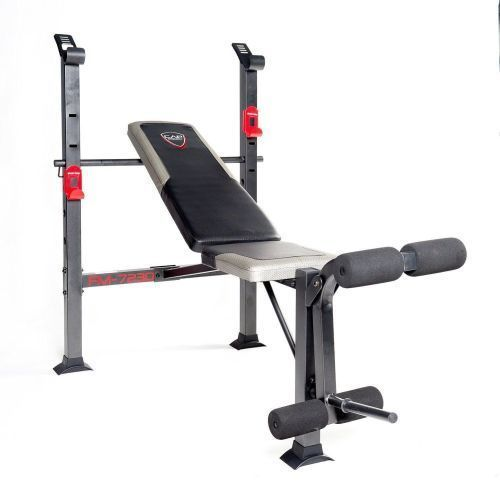 Adjustable Bench Press Home Gym Exercise Workout Fitness Flat Incline Decline #CAPBarbell