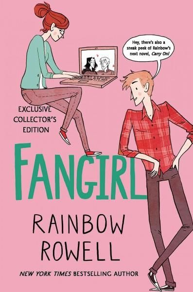 Fangirl by Rainbow Rowell Ryan's Review: 4 of 5 stars. Cath writes can fix and is a freshman in college...everything get weird. I loved Cath's character. I relate to her so much despite being 35. The plot however is just ok.