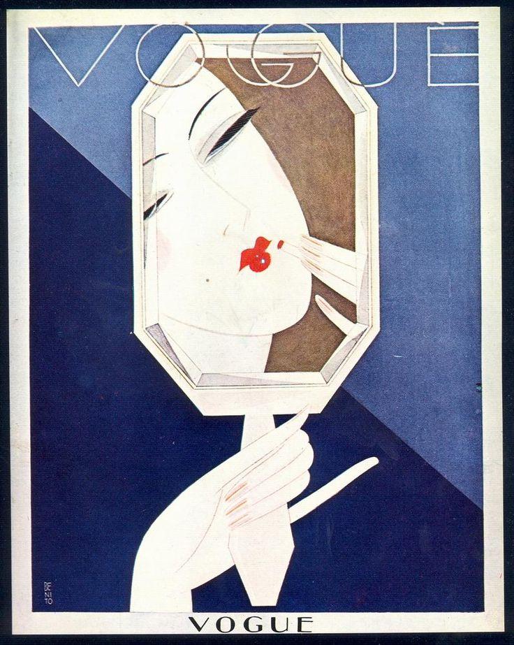 * wunderkammer *: Vogue: Art Deco covers II . A radical change in the role of women. / Un cambio radical en el papel de la mujer