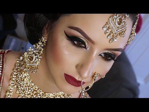 Muslim Bridal Makeup Iasian Deshi Indian Stani Wedding You Video
