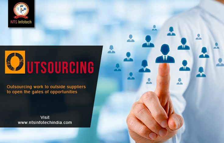 Nts provide the outsourcing work to outside suppliers to open the gates of opportunities.Please visit us-www.ntsinfotechindia.com