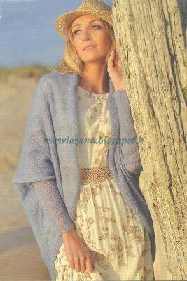 ВСЕ СВЯЗАНО. ROSOMAHA.: Жакет-шаль из кидмохера. Красота в простоте!