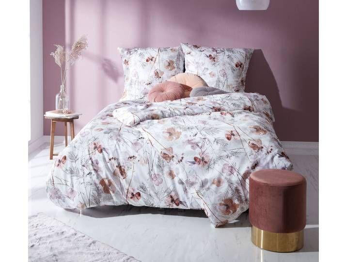 Mako Satin Bettwasche Mohnblumen Rost Rot 200x200 Home Decor Furniture Decor