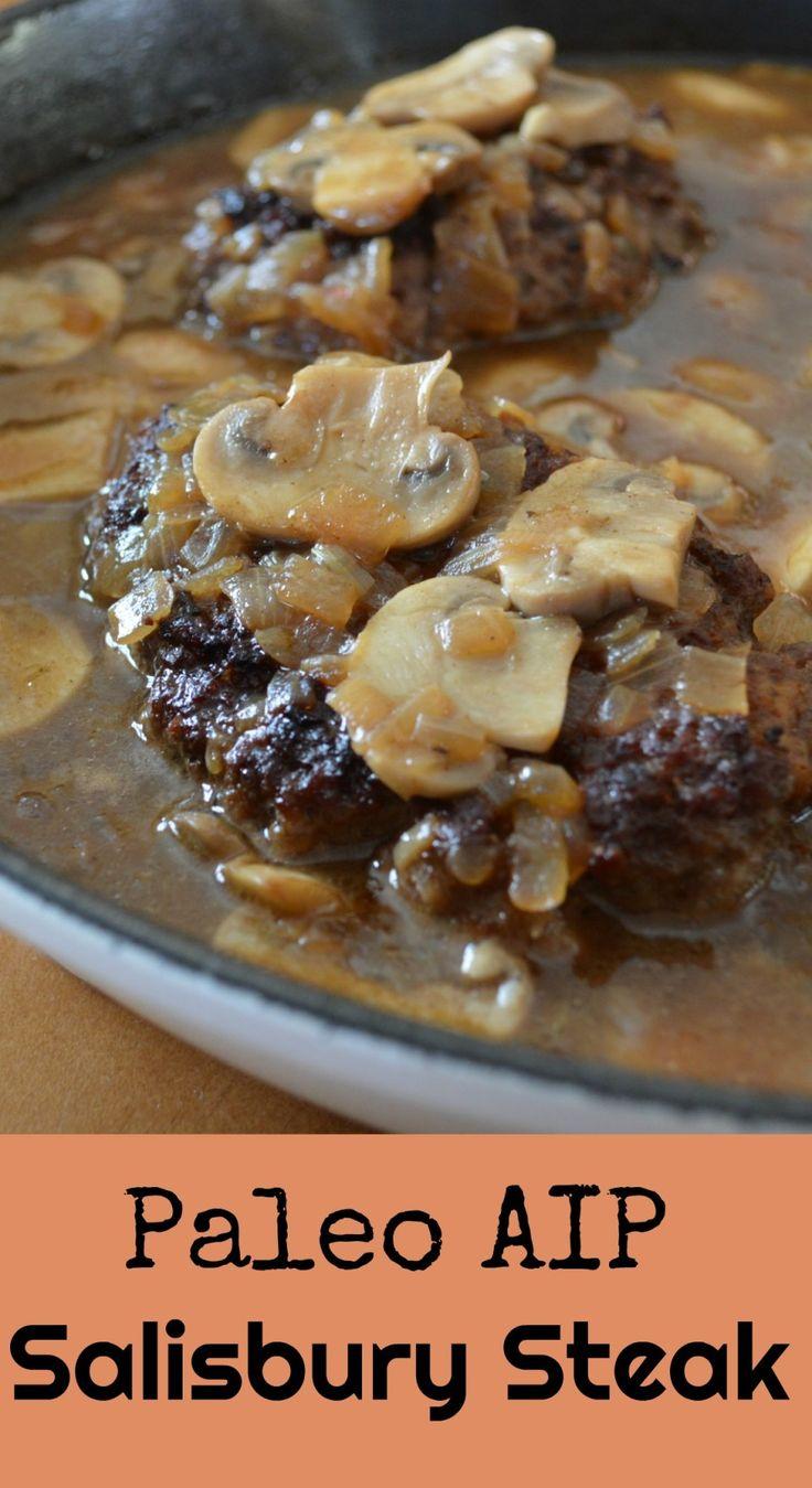 Salisbury Steak (AIP, SCD, Paleo)
