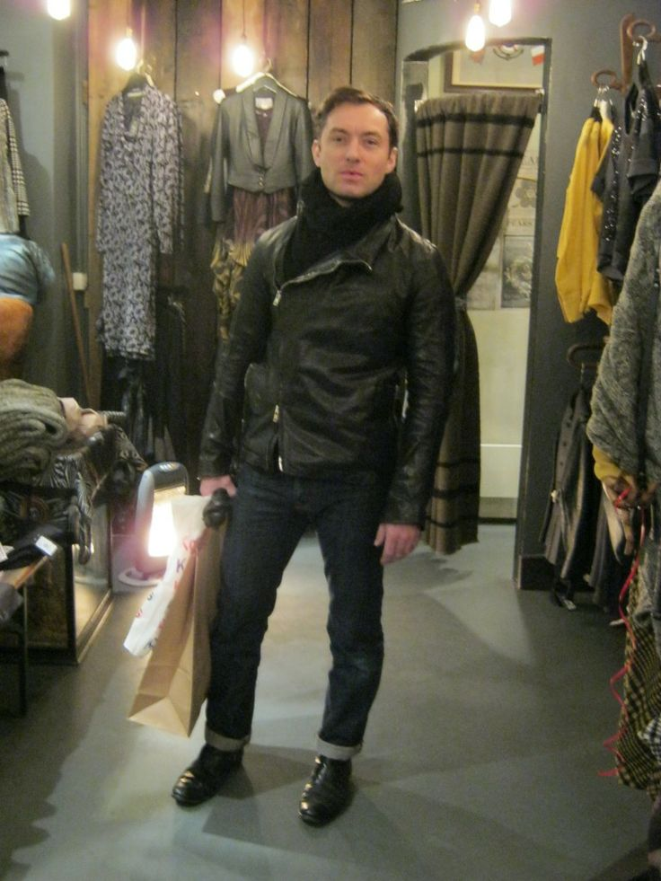 Jude Law shopping for BT