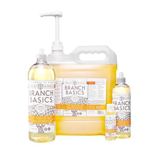 BRANCH BASICS HUMAN SAFE SOAP  ​One pure, easy to dilute soap to replace all your cleaning products.