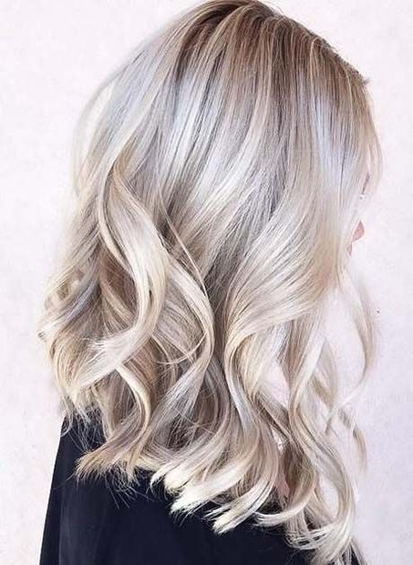 Magnificent Mid Length Wavy Hairstyles 2019 – #hai…