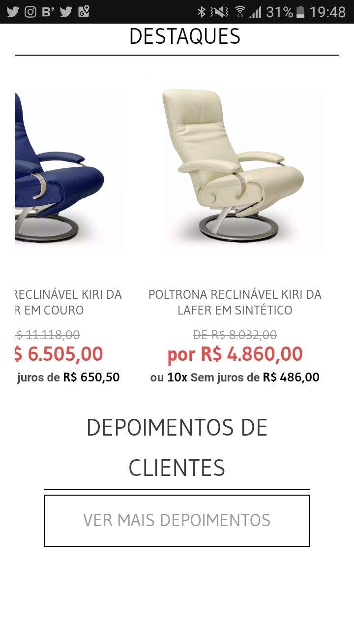 Cadeira reclinavel