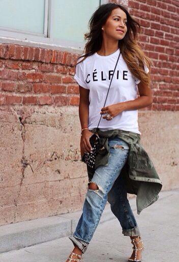 Celfie shirt