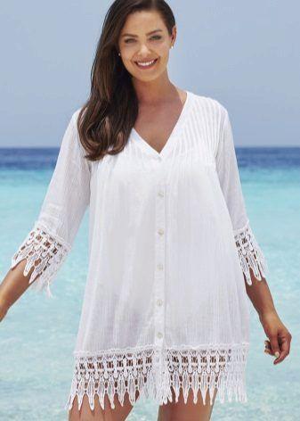 Купить пляжные платья и халаты