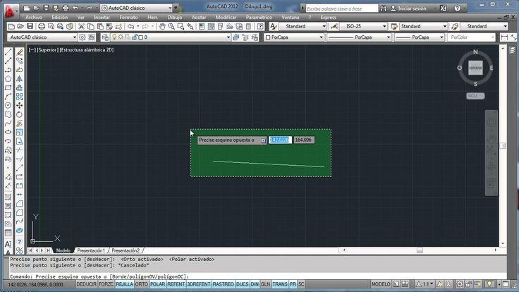 Aprende AutoCad 2012 en español sin vueltas, lo que se usa - 01 (+lista ...