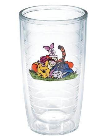 Disney Eeyore Glass Tumbler