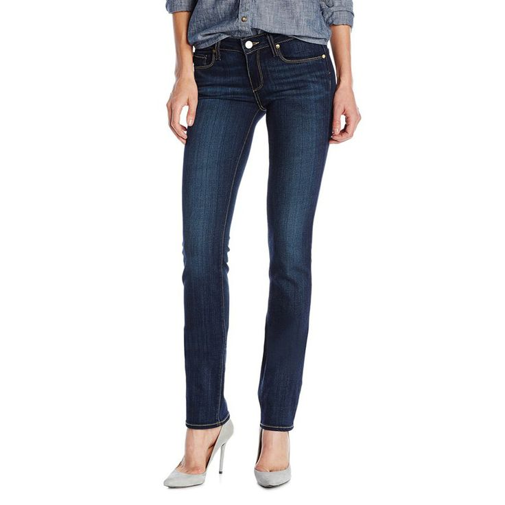 Paige Jeans Skyline Straight in Vista