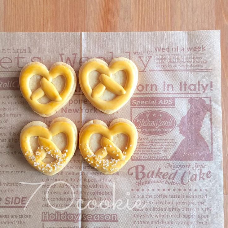Pretzel shaped cookies | CREATIVE COOKIES | Pinterest | Pretzels, Ps ...