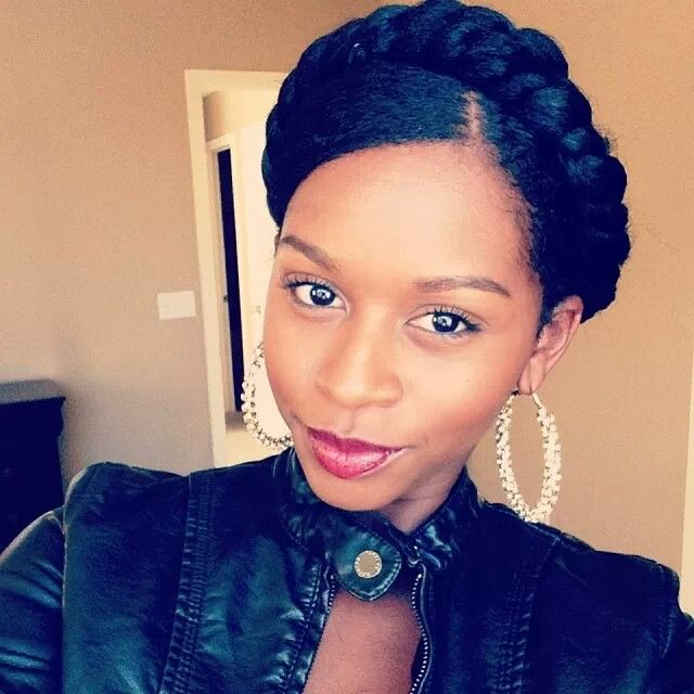 Astonishing 1000 Images About Protective Natural Hair Styles On Pinterest Hairstyle Inspiration Daily Dogsangcom