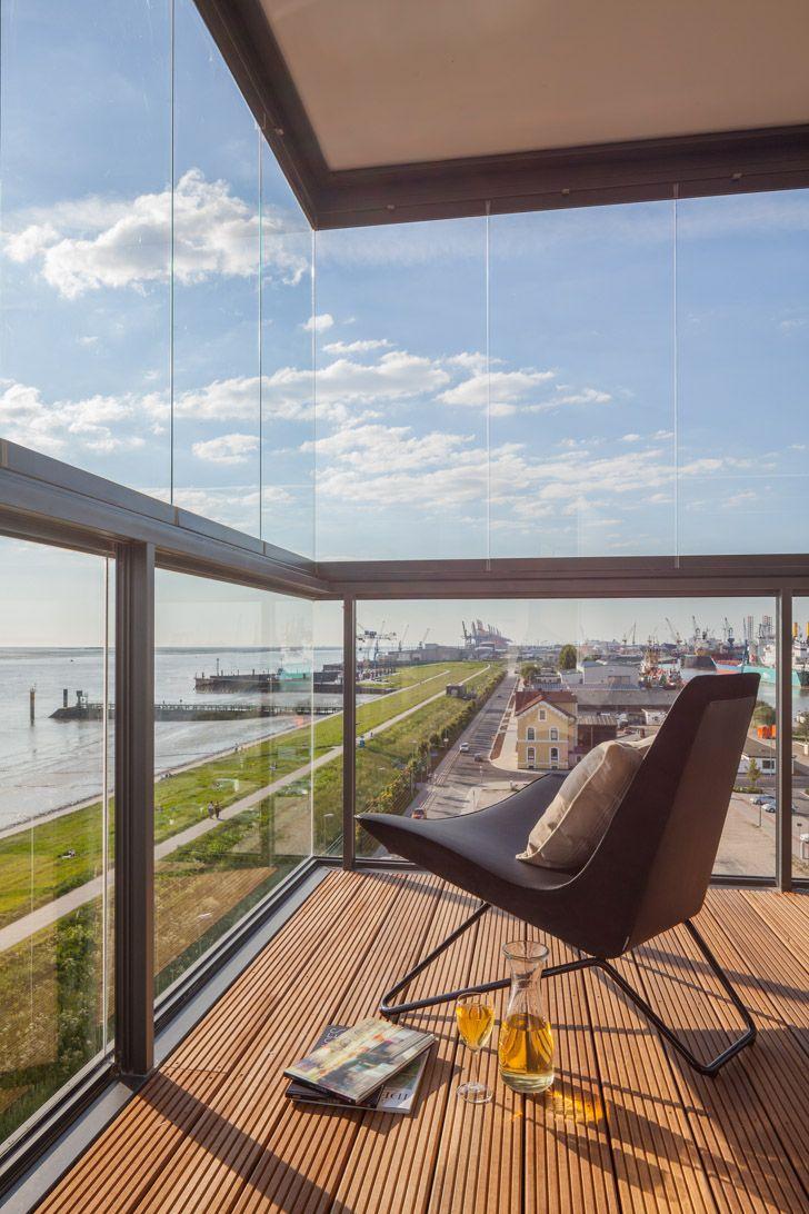 Faszinierend Solarlux Falttüren Preise Galerie Von Tolle Aussicht! #balkonverglasung Mit Der Sl 25