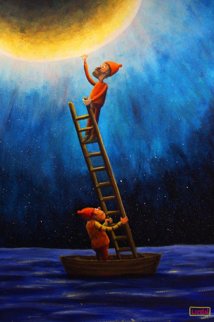 qwfwq y Vhd Vhd en su expedición a la luna allá por el comienzo de los tiempos.