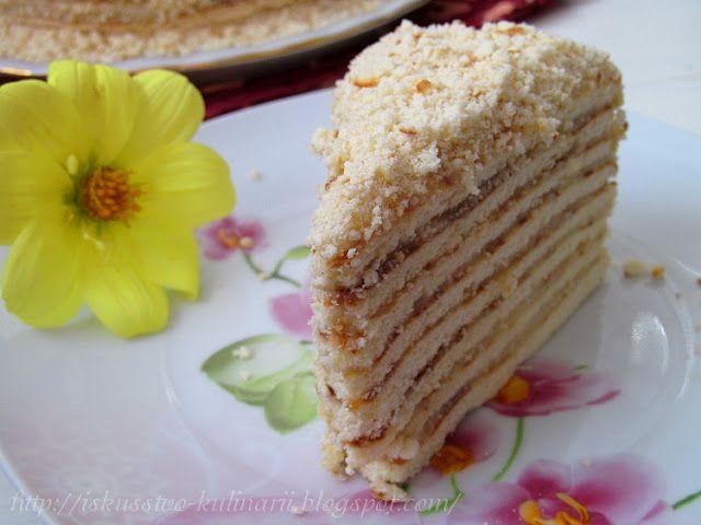 Постигая искусство кулинарии... : Торт на сковороде за 1 час!!!