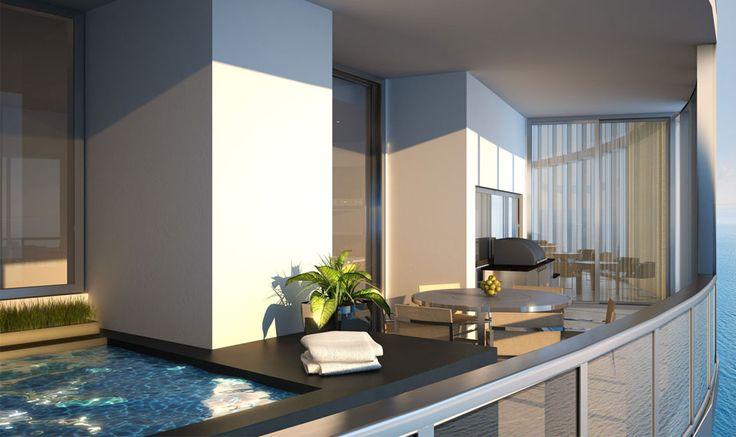 Porsche Design Tower - Miami - Myrtha Pools