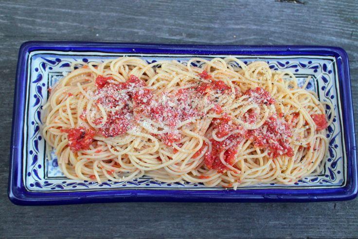手間いらずのローストトマトパスタソース