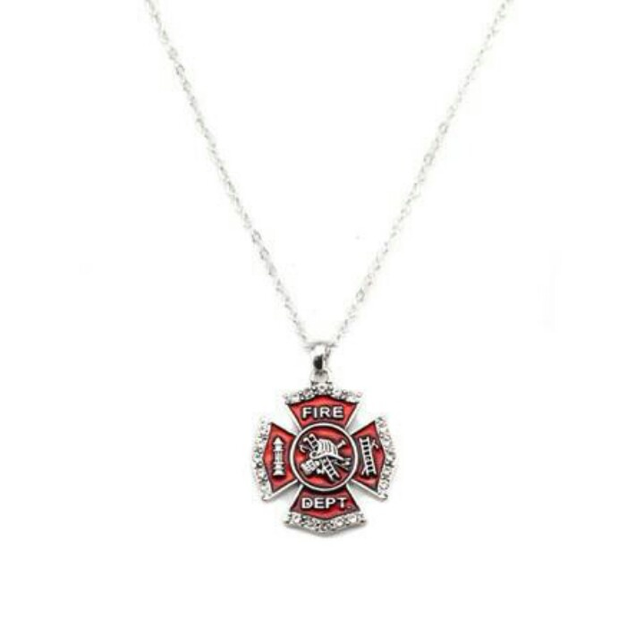 Fire Department Maltese Cross Necklace: Pin By Shonda Holliman On Wildfires