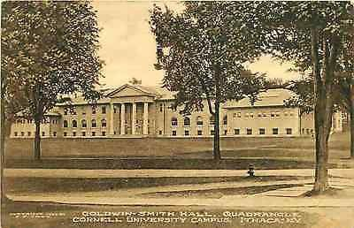 Ithaca New York NY 1920s Goldwin Smith Hall Cornell University Vintage Postcard Ithaca New York NY 1920s Goldwin Smith Hall College of Arts and Sciences at Cornell University. Used collectible antique