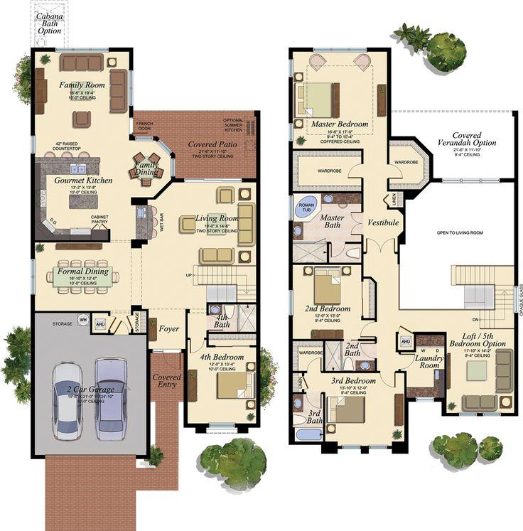 17 best images about florida homes favorite floorplans for Florida blueprint
