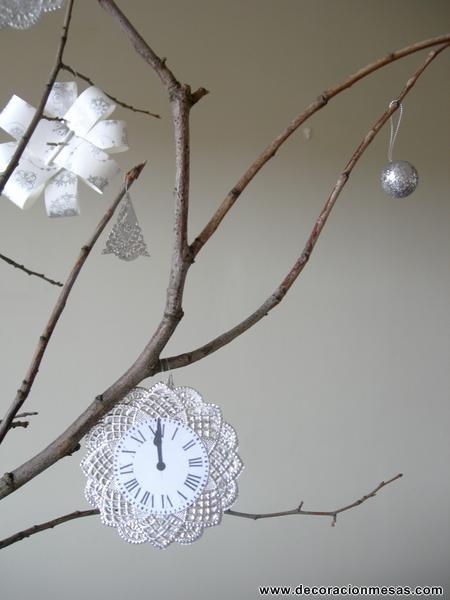 decoracion mesa fin de año detalle adorno. www.decoracionmesas.com