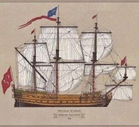 An Ottoman Galleon, 1712.