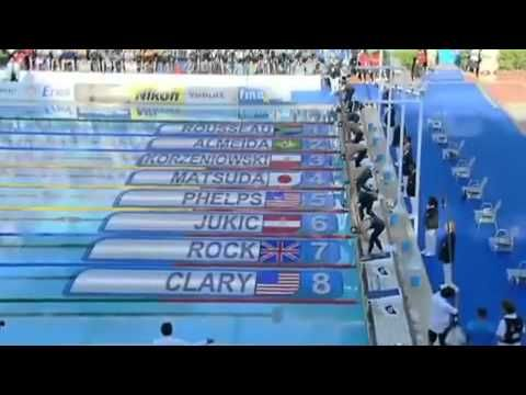Michael Phelps 200m butterfly World Record - YouTube