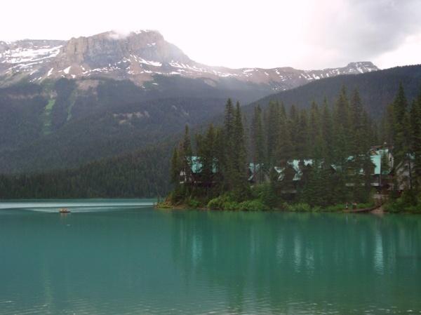 Emerald Lake near Banff, Canada ...so peaceful, beautiful