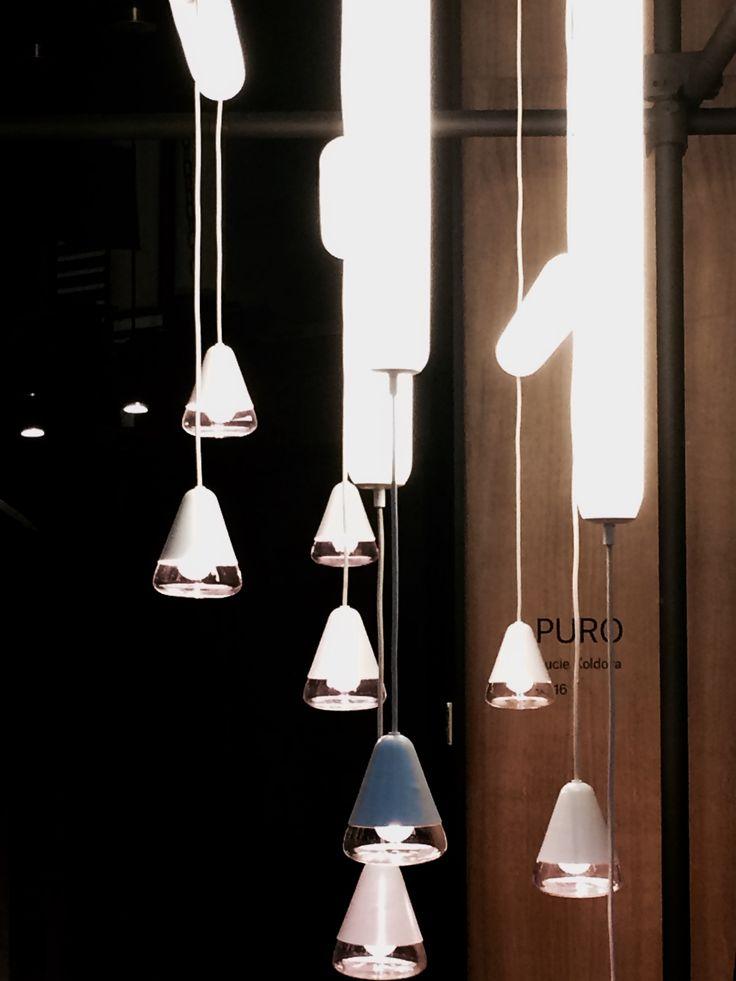 Stockholm Furniture Fair - Brokis - Lights - Interior - Design. PURO by Lucie Koldova