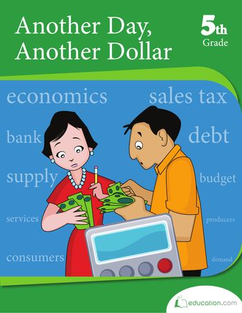 This #5thgrade #math #workbook teaches your child how to use money in everyday situations.