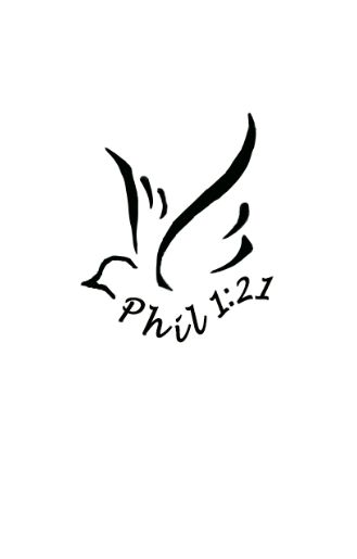 """Created this design for a friend of mine. This is a pretty awesome abstract dove shape and looks great with the verse referencing finishing it. """"For to me, to live is Christ and to die is gain."""" Phil. 1:21  -Alec Cross"""