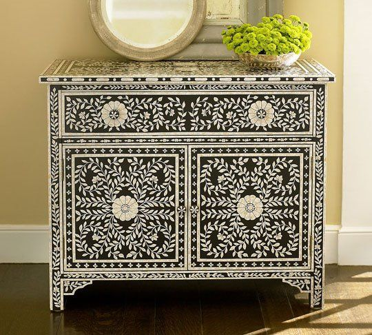 Mother of pearl Moroccan inspired furniture