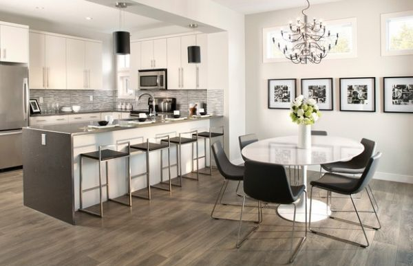 The marble tulip table is the perfect casual dining table for your modern kitchen