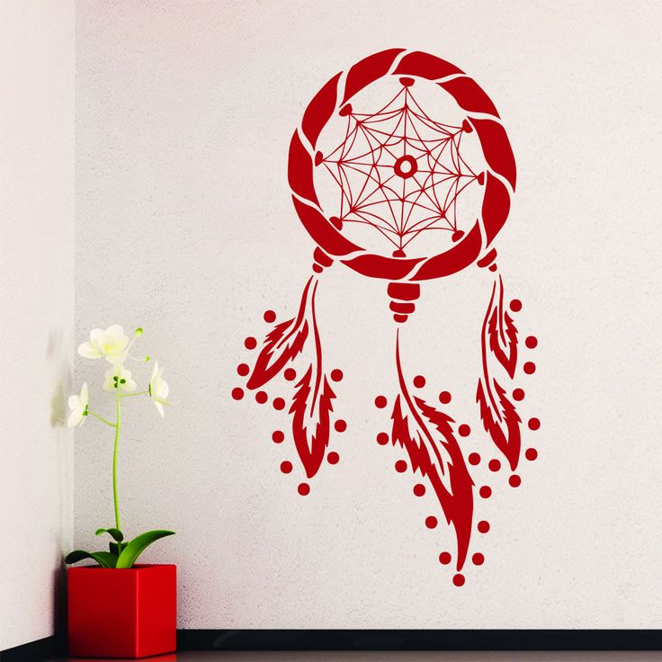 Wall Decals In Dorms : Best dreamcatcher images on stickers art