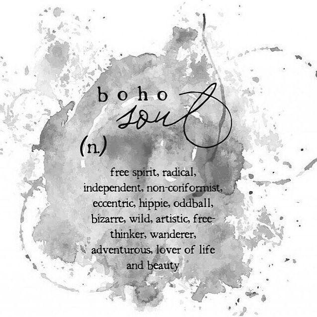 Boho Soul  #LMEANquote #mantra #pinterest