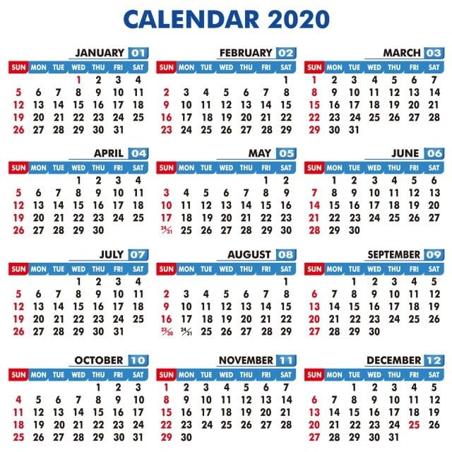 Best Design Of Calendar 2020 Calendar Date Year Png Transparent Clipart Image And Psd File For Free Download Free Printable Calendar Templates 2020 Calendar Template Printable Calendar Template