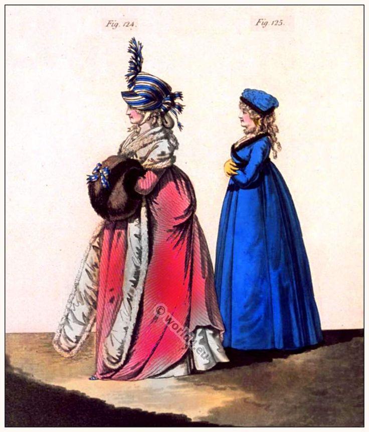 Abiti da mattina. Gennaio 1797