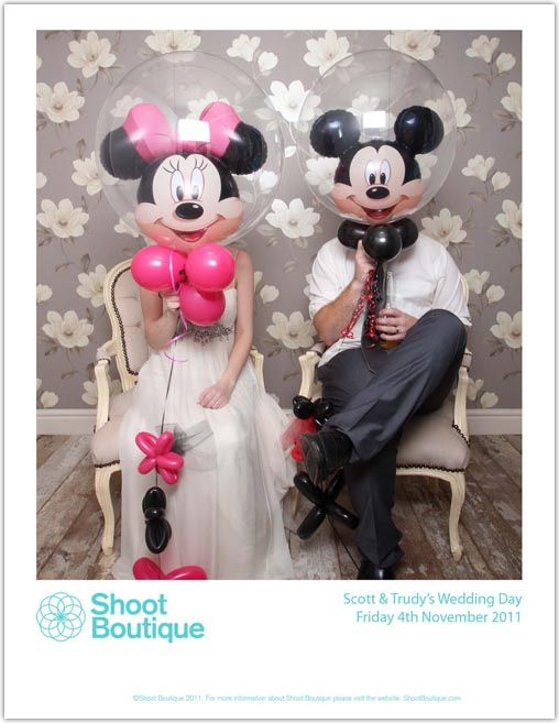 haha, pretty funny photo booth prop- Mickey and Minnie! this is a MUST, since i'm so obsessed with disney. <3