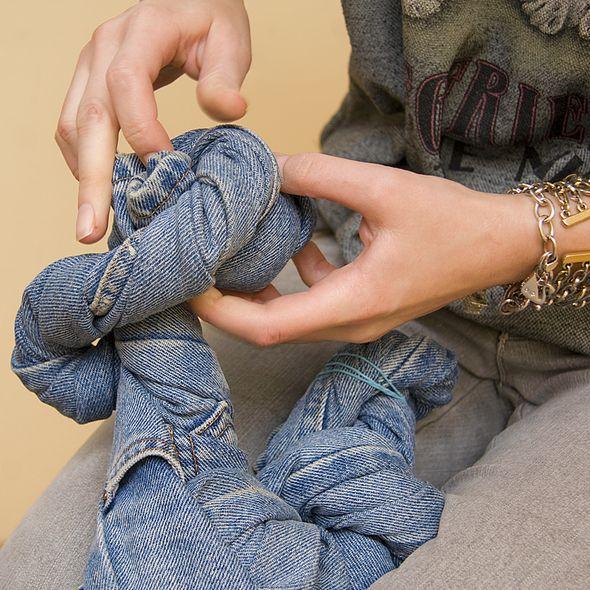 Как из джинсов сделать варенки