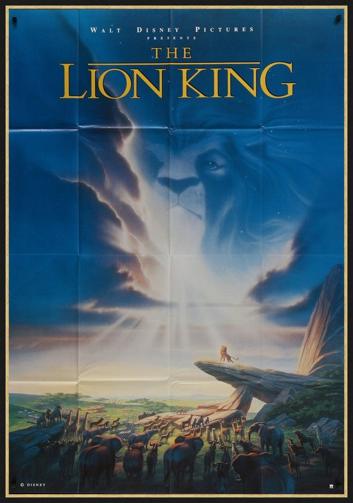 The Lion King 1994 The Lion King 1994 Lion King Poster Lion King